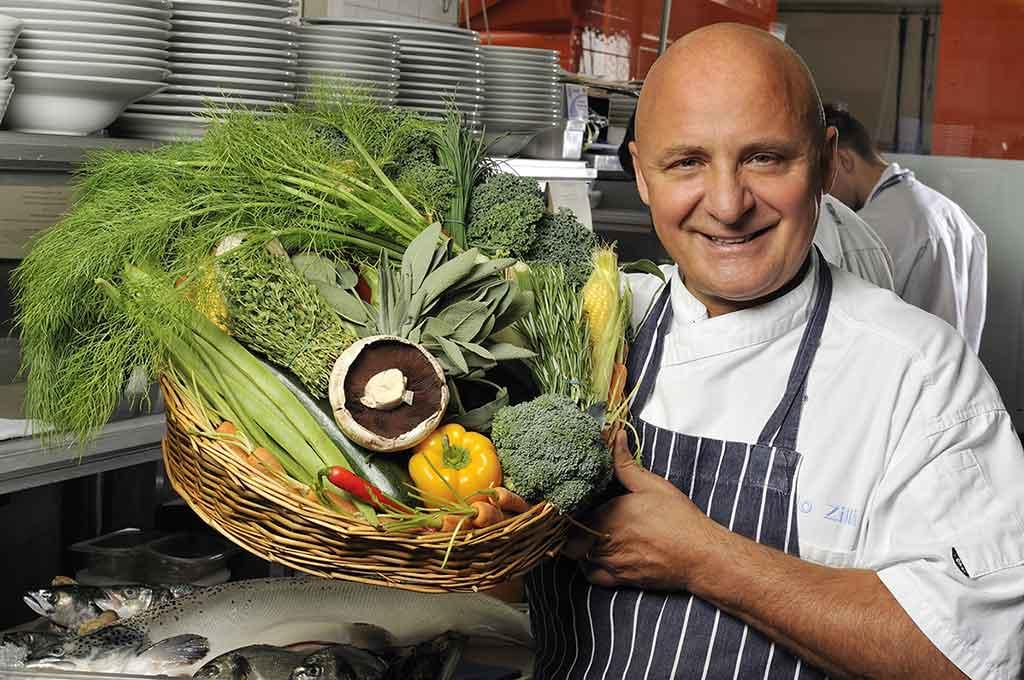 Brand reinvigoration for celebrity chef Aldo Zilli