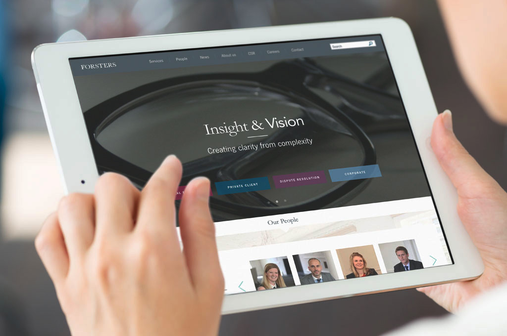 London law firm launches new look online